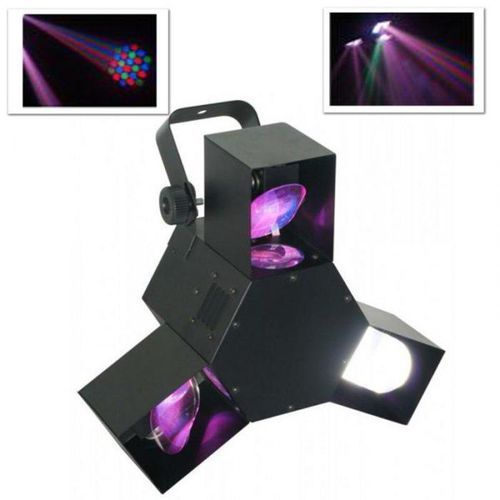 Ośmiokanałowy efekt świetlny Beamz LED Triple Flex DMX
