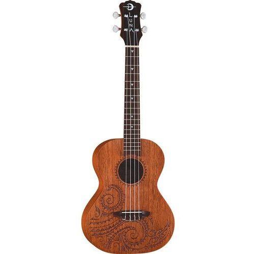mahogany tattoo tenor ukulele tenorowe marki Luna