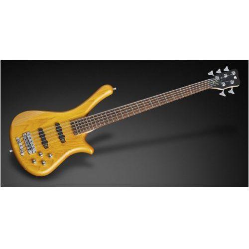 RockBass Fortress 5 Honey Violin Transparent Satin gitara basowa