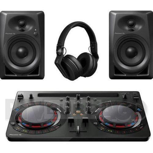 Kontroler dj ddj wego4 + dm-40 + hdj-700 czarny marki Pioneer