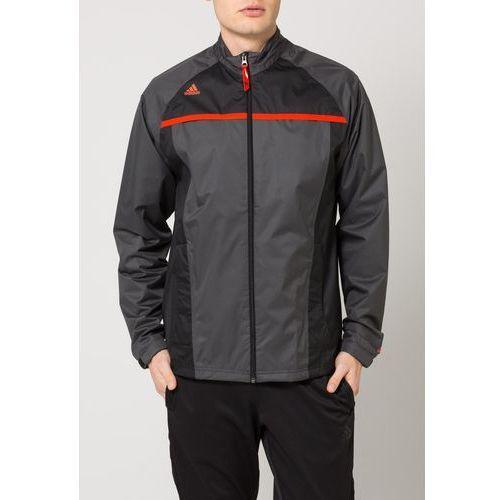 adidas Golf CLIMASTROM ESSENTIALS Kurtka hardshell solid grey/black (kurtka męska) od Zalando.pl