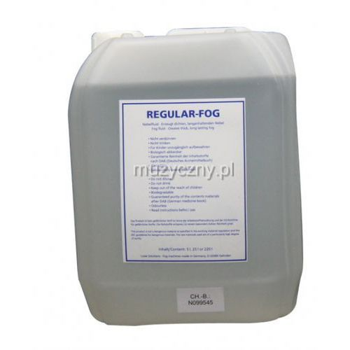regular fog 5l -płyn do wytwornicy dymu marki Look solutions