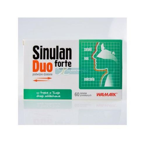 SINULAN DUO FORTE 60 tabletek