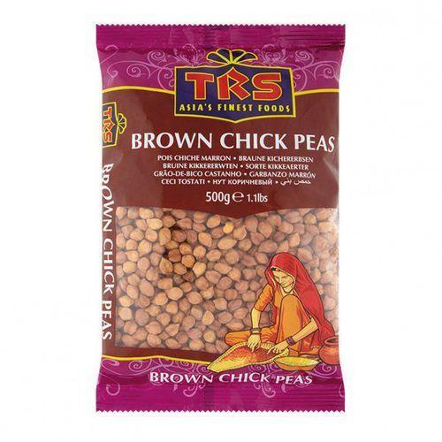 Brown chick peas - kala chana 0,5kg marki Trs