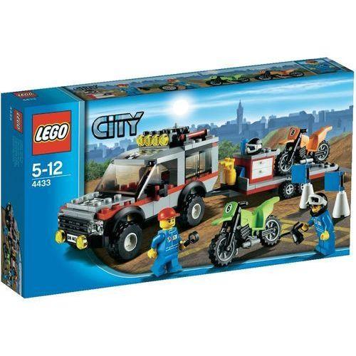 Lego City TRANSPORTER MOTOCYKLI 4433 z kategorii: klocki dla dzieci