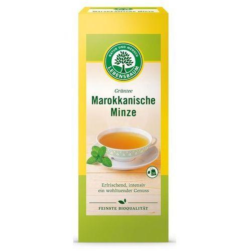 Lebensbaum (przyprawy, herbaty, kawy) Herbata zielona z miętą marokańską bio 20 x 2 g - lebensbaum