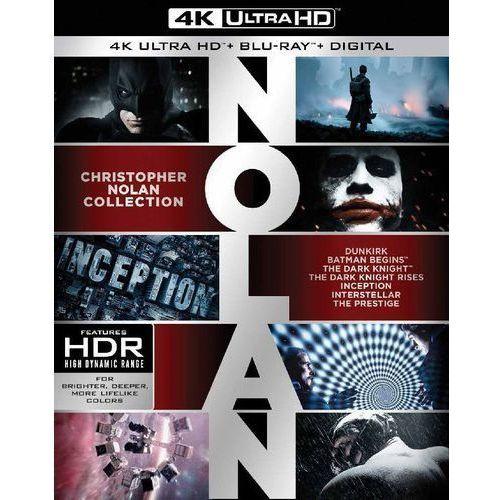CHRISTOPHER NOLAN - KOLEKCJA FILMÓW W 4K (7BD 4K, 14BD) (Płyta BluRay) (7321909348141)