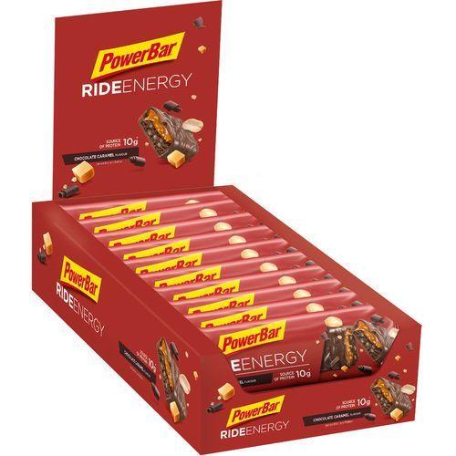 PowerBar RideEnergy Żywność dla sportowców Chocolate-Caramel 18 x 55g 2019 Batony i żele energetyczne