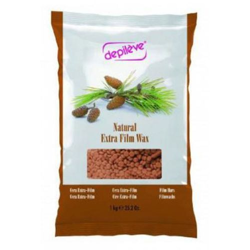 Depileve natural extra film wax wosk do depilacji bezpaskowej - naturalny w granulkach (1 kg)