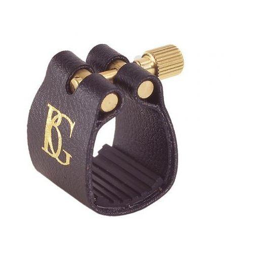 Bg l14 standard ligatura z ochraniaczem do saksofonu tenorowego