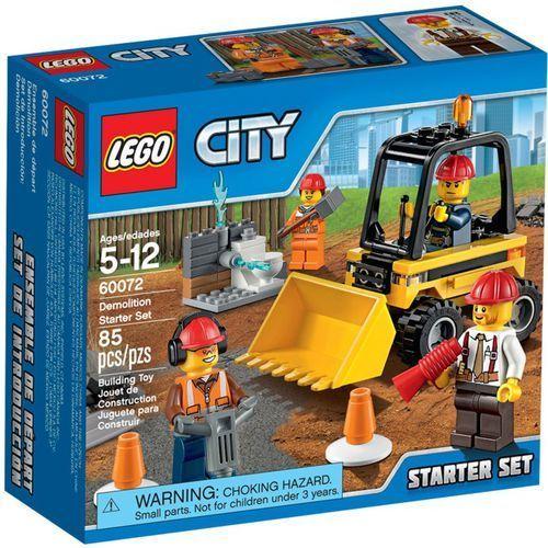 Lego City WYBURZANIE- ZESTAW STARTOWY 60072 z kategorii: klocki dla dzieci