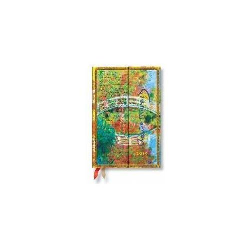 Kalendarz książkowy midi 2019 12M Monet Bridge (9781439748794)