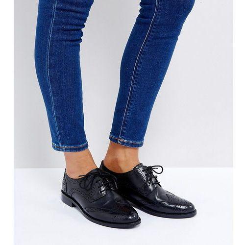 Asos mojito leather brogues - black