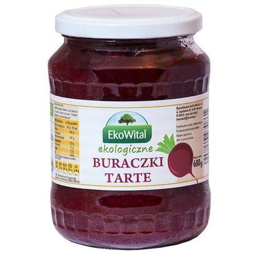 Buraczki tarte bio 680 g marki Ekowital