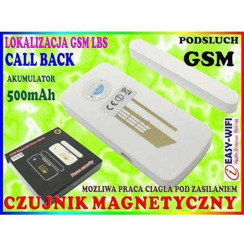 ALARM GSM PLUSKWA PODSŁUCH CZUJNIK MAGNETYCZNY KONTAKTRON NA DRZWI OKNO, Sklep Easy-WiFi z Sklep Easy-WiFi
