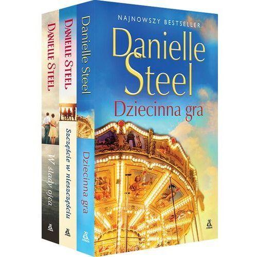 Dziecinna gra / Szczęście w nieszczęściu / W ślady ojca - Danielle Steel (928 str.)