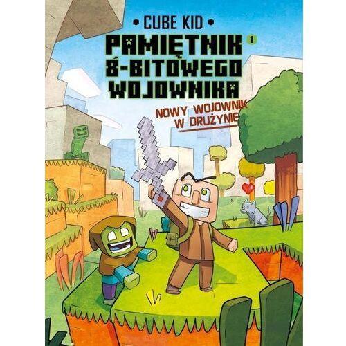 Minecraft pamiętnik nooba wojownika podróż przez pustynię tom 3 - cube kid (9788376869025)