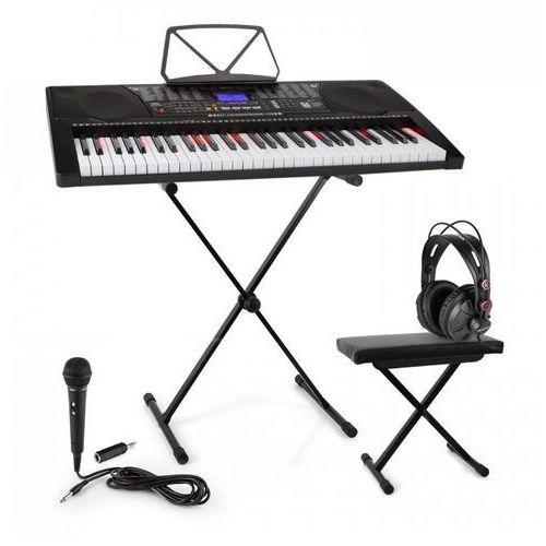 Elektronik-star Schubert etude 225 usb zestaw keyboard do nauki ze stojakiem i ławką (4260528644001)