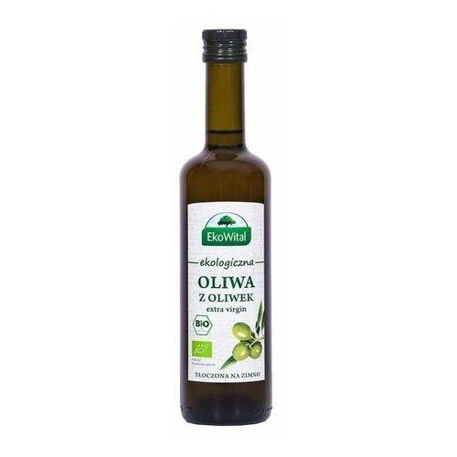 Oliwa z oliwek extra virgin bio 500 ml marki Ekowital