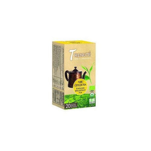 T'renute (herbaty) Herbata czarna english breakfast bio 30 g (1,5 g x 20 szt.) - t'renute