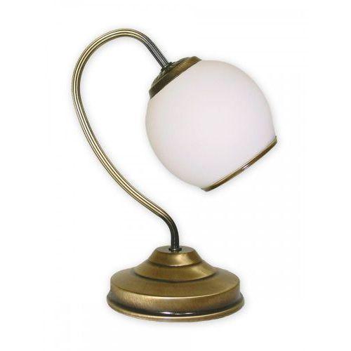 Lemir Rodos lampka stołowa 1 pł. / patyna, dodaj produkt do koszyka i uzyskaj rabat -10% taniej! (5907176571899)