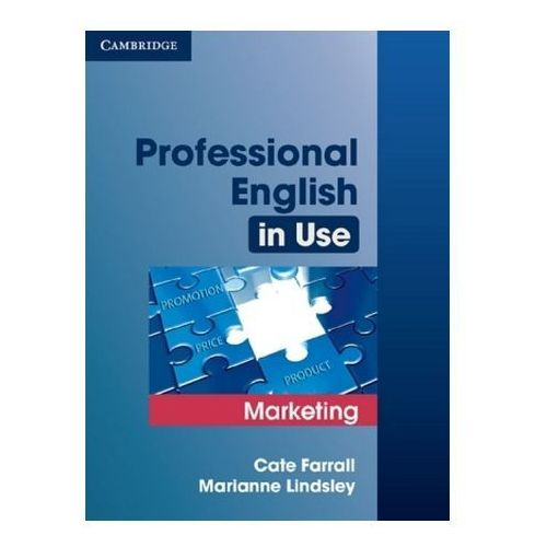 Professional English in Use, Marketing (9783125395992)