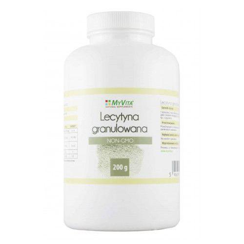 Lecytyna w Proszku Granulowana NON-GMO Myvita 400 g