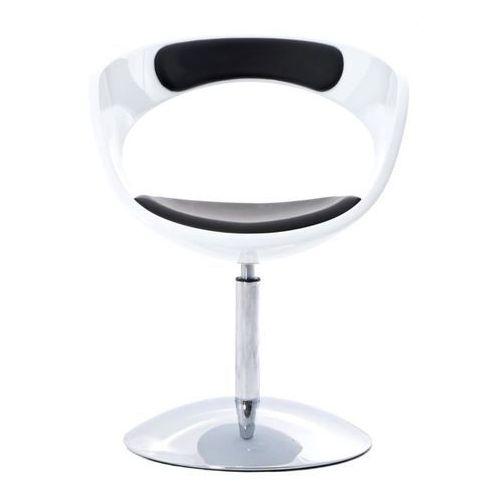 Fotel FLOP K- biały, S- czarne, kolor biały