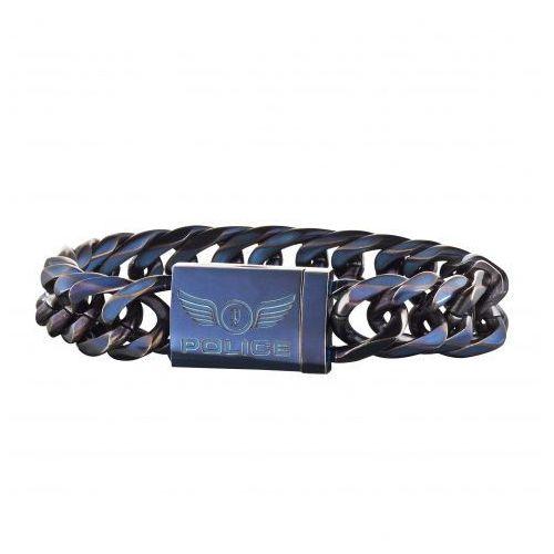 niebieski bransoletka dowód pj25507bsen / 03l (długość 19 cm) marki Police