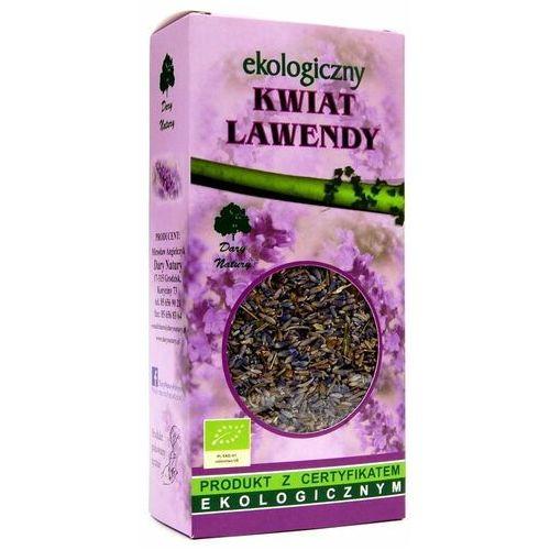 Dary natury - test Herbatka z kwiatu lawendy bio 50 g - dary natury (5903246864144)