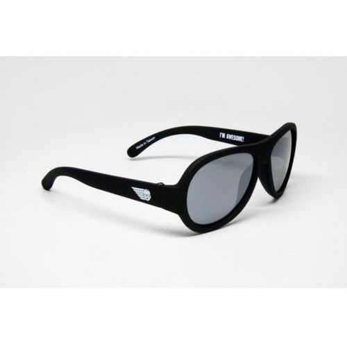 Babiators - okulary przeciwsłoneczne dla dzieci (3-5) - czarne