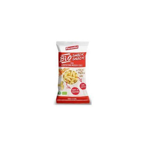 Chrupki ryżowe z soczewicą i ciecierzycą bezglutenowe bio 45 g fiorentini marki Fiorentini (krążki ryżowe i kukurydziane)