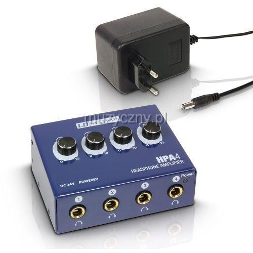 hpa4 wzmacniacz słuchawkowy 4-ch marki Ld systems