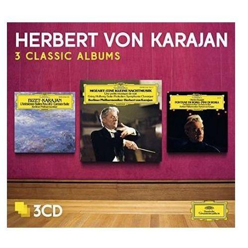 3 classic albums: mozart, bizet, respighi - herbert von karajan (płyta cd) marki Universal music / deutsche grammophon
