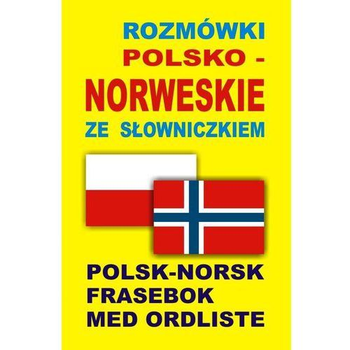 Rozmówki polsko-norweskie ze słowniczkiem, oprawa broszurowa