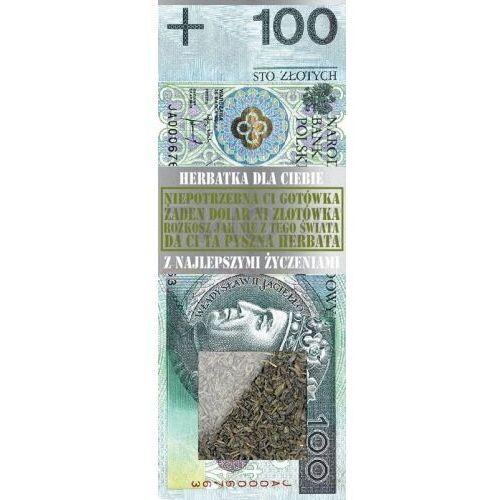 Twojestroje.pl Herbata zielona banknot 100 zł 50g