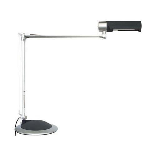 Lampka na biurko MAUL Office, 20W, mocowana zaciskiem, srebrna - sprawdź w Zilon
