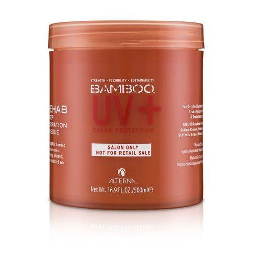 bamboo uv color masque | intensywnie nawilżająca maska do włosów farbowanych 500ml marki Alterna