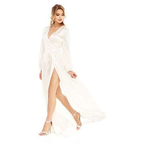 Sukienka Penelopa w kolorze kremowym, kolor beżowy
