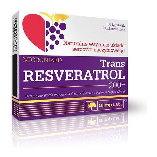 TRANS RESVERATROL 200+ mikronizowany x 30 kapsułek, OLIMP