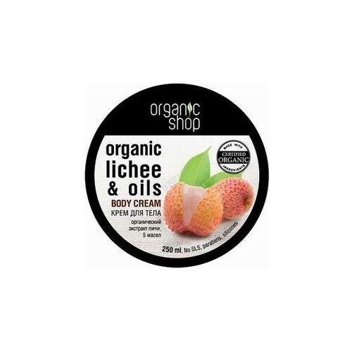ORGANIC SHOP_Organic Lychee & 5 Oils Body Cream 250ml (4744183012424)