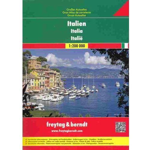 Włochy. Atlas samochodowy 1:200 000, praca zbiorowa