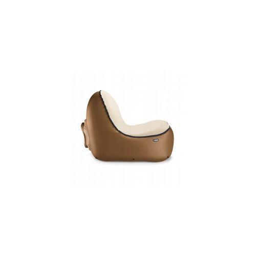 Fotel dmuchany Trono Bronze z welurową nakładką, 00415