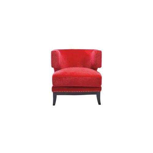 Kare Design Art Deco Red Fotel Czerwony Tkanina (76515), marki Kare Design do zakupu w sfmeble.pl