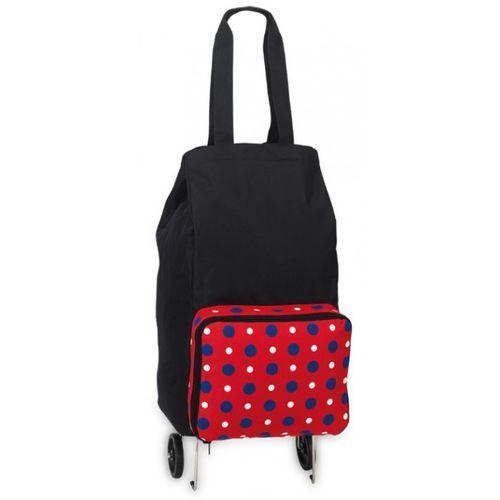 Wózek na zakupy z torbą czerwoną niemieckiej marki SOUTHWEST (wózek na zakupy)