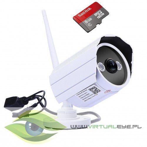 Virtualeye Kamera ip zewnętrzna 720p p2p wifi hd 8gb online