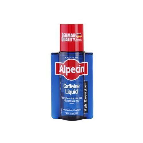 Alpecin Hair Energizer Caffeine Liquid tonik kofeinowy przeciw wypadaniu włosów dla mężczyzn (Strengthens The Hair Roots; Prevents Hair Loss) 200 ml (4008666212443)