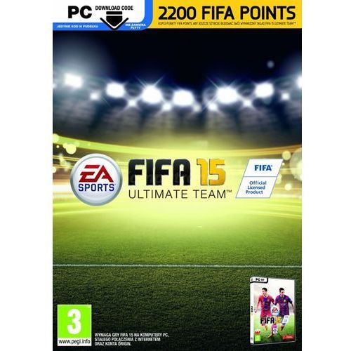 Electronic arts Karta pre-paid fifa 15 2200 points (5030930116941)