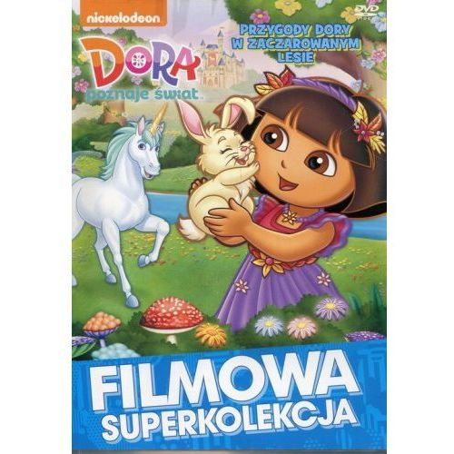 Media service zawada Dora poznaje świat przygody w zaczarowanym lesie (płyta dvd) (5906395045549)