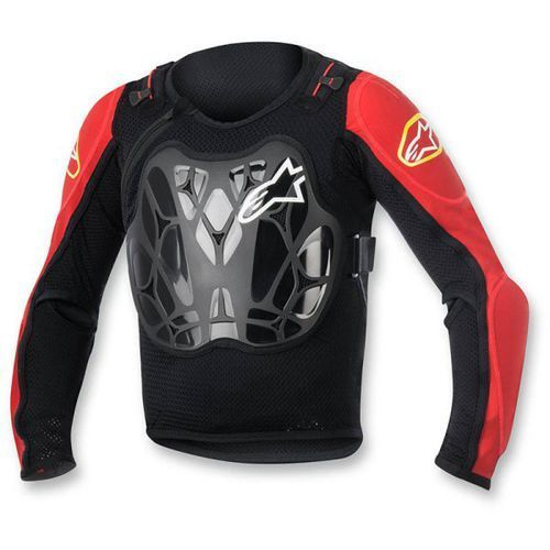 Ochraniacz alpinestars youth bionic jacket black/red marki Alpinestars mx